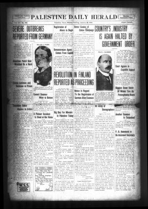 Palestine Daily Herald (Palestine, Tex), Vol. 16, No. 243, Ed. 1 Monday, January 28, 1918
