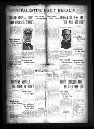 Palestine Daily Herald (Palestine, Tex), Vol. 16, No. 269, Ed. 1 Wednesday, February 27, 1918