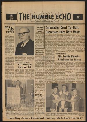The Humble Echo (Humble, Tex.), Vol. 26, No. 50, Ed. 1 Thursday, December 16, 1965