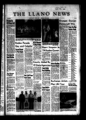 Primary view of object titled 'The Llano News (Llano, Tex.), Vol. 83, No. 30, Ed. 1 Thursday, June 6, 1974'.