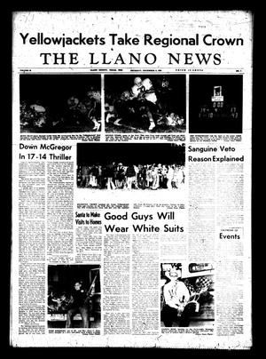 Primary view of object titled 'The Llano News (Llano, Tex.), Vol. 83, No. 4, Ed. 1 Thursday, December 6, 1973'.