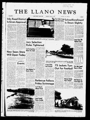 Primary view of object titled 'The Llano News (Llano, Tex.), Vol. 80, No. 40, Ed. 1 Thursday, August 19, 1971'.