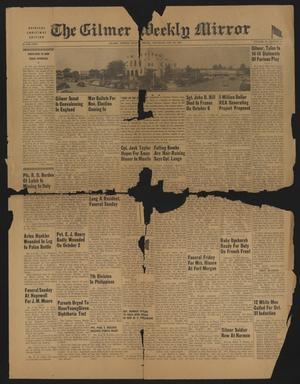 The Gilmer Weekly Mirror (Gilmer, Tex.), Vol. 69, No. 41, Ed. 1 Thursday, October 26, 1944