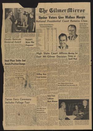 The Gilmer Mirror (Gilmer, Tex.), Vol. 91, No. 45, Ed. 1 Thursday, November 7, 1968