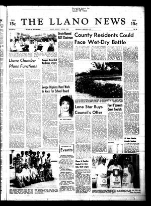 Primary view of object titled 'The Llano News (Llano, Tex.), Vol. 86, No. 20, Ed. 1 Thursday, March 24, 1977'.
