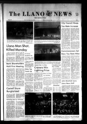 Primary view of object titled 'The Llano News (Llano, Tex.), Vol. 92, No. 8, Ed. 1 Thursday, December 23, 1982'.