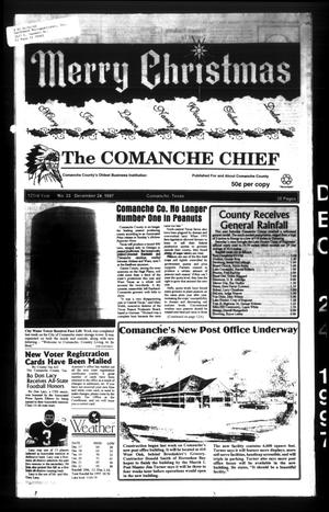 Primary view of object titled 'The Comanche Chief (Comanche, Tex.), Vol. 123, No. 33, Ed. 1 Wednesday, December 24, 1997'.