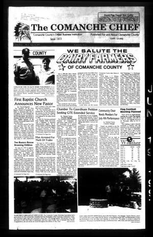 Primary view of The Comanche Chief (Comanche, Tex.), Vol. 123, No. 6, Ed. 1 Thursday, June 19, 1997