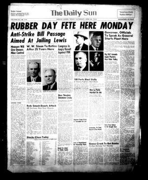 The Daily Sun (Goose Creek, Tex.), Vol. 24, No. 320, Ed. 1 Saturday, June 26, 1943