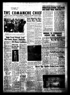 Primary view of object titled 'The Comanche Chief (Comanche, Tex.), Vol. 98, No. 12, Ed. 1 Friday, September 4, 1970'.