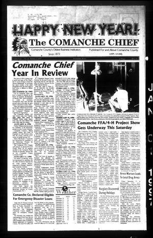 Primary view of object titled 'The Comanche Chief (Comanche, Tex.), Vol. 122, No. 34, Ed. 1 Wednesday, January 1, 1997'.