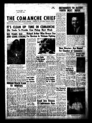 Primary view of object titled 'The Comanche Chief (Comanche, Tex.), Vol. 97, No. 38, Ed. 1 Friday, March 6, 1970'.
