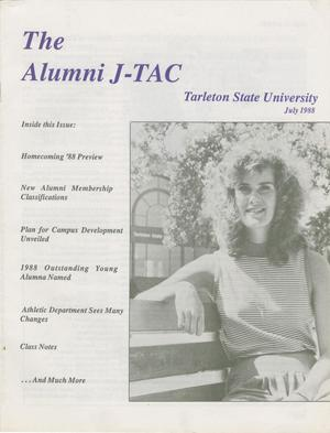 Primary view of object titled 'Alumni J-TAC, July 1988'.