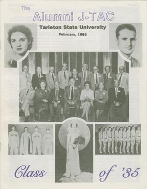 Primary view of Alumni J-TAC, February 1986