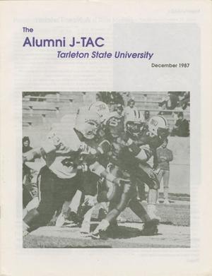Primary view of Alumni J-TAC, December 1987