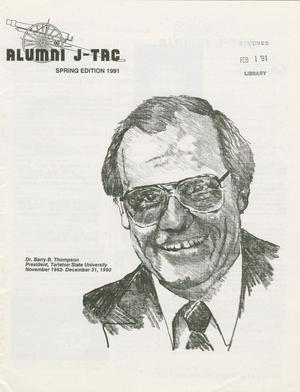 Primary view of Alumni J-TAC, Spring 1991