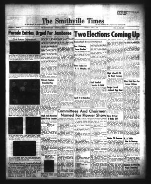 Primary view of object titled 'The Smithville Times Transcript and Enterprise (Smithville, Tex.), Vol. 68, No. 14, Ed. 1 Thursday, April 2, 1959'.
