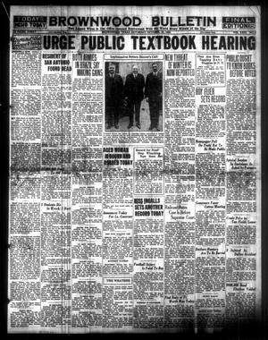 Primary view of object titled 'Brownwood Bulletin (Brownwood, Tex.), Vol. 31, No. 4, Ed. 1 Saturday, October 18, 1930'.