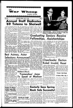 The War Whoop (Abilene, Tex.), Vol. 46, No. 27, Ed. 1, Wednesday, May 7, 1969