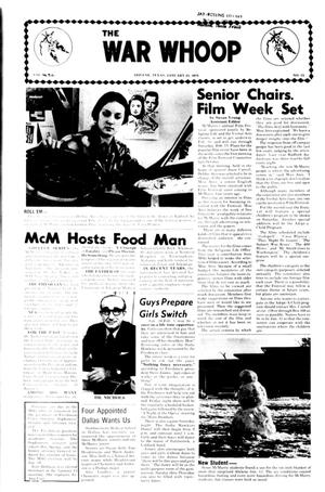 The War Whoop (Abilene, Tex.), Vol. 52, No. 15, Ed. 1, Thursday, January 23, 1975