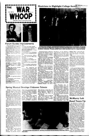 The War Whoop (Abilene, Tex.), Vol. 53, No. 13, Ed. 1, Thursday, January 22, 1976
