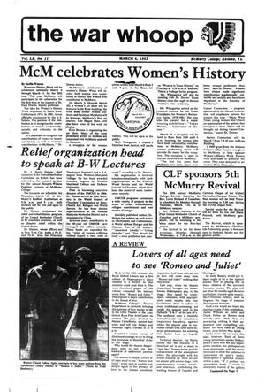 The War Whoop (Abilene, Tex.), Vol. 60, No. 11, Ed. 1, Friday, March 4, 1983