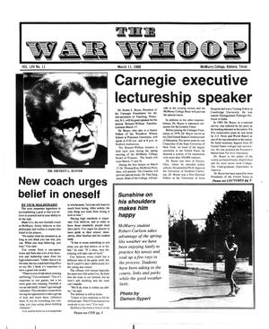 The War Whoop (Abilene, Tex.), Vol. 65, No. 11, Ed. 1, Friday, March 11, 1988