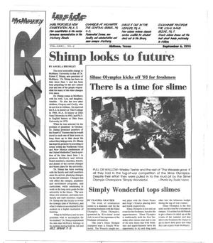 Primary view of object titled 'McMurry University War Whoop (Abilene, Tex.), Vol. 71, No. 2, Ed. 1, Monday, September 6, 1993'.