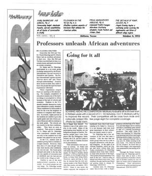 Primary view of object titled 'McMurry University War Whoop (Abilene, Tex.), Vol. 71, No. 4, Ed. 1, Monday, October 4, 1993'.