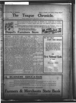 Primary view of object titled 'The Teague Chronicle. (Teague, Tex.), Vol. 8, No. 1, Ed. 1 Friday, July 25, 1913'.