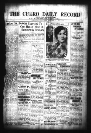 The Cuero Daily Record (Cuero, Tex.), Vol. 65, No. 19, Ed. 1 Friday, July 23, 1926