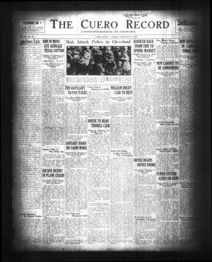 The Cuero Record (Cuero, Tex.), Vol. 36, No. 42, Ed. 1 Tuesday, February 18, 1930