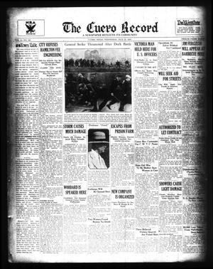 The Cuero Record (Cuero, Tex.), Vol. 40, No. 165, Ed. 1 Wednesday, July 11, 1934