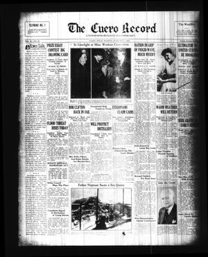 Primary view of object titled 'The Cuero Record (Cuero, Tex.), Vol. 42, No. 28, Ed. 1 Tuesday, February 4, 1936'.