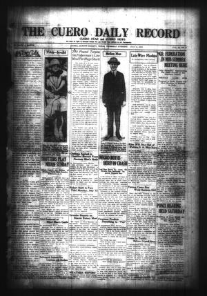 Primary view of object titled 'The Cuero Daily Record (Cuero, Tex.), Vol. 65, No. 6, Ed. 1 Thursday, July 8, 1926'.