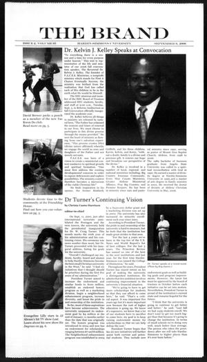 The Brand (Abilene, Tex.), Vol. 95, No. 2, Ed. 1, Wednesday, September 6, 2006
