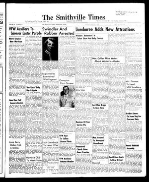 The Smithville Times Transcript and Enterprise (Smithville, Tex.), Vol. 67, No. 12, Ed. 1 Thursday, March 20, 1958