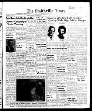 The Smithville Times Transcript and Enterprise (Smithville, Tex.), Vol. 67, No. 19, Ed. 1 Thursday, May 8, 1958