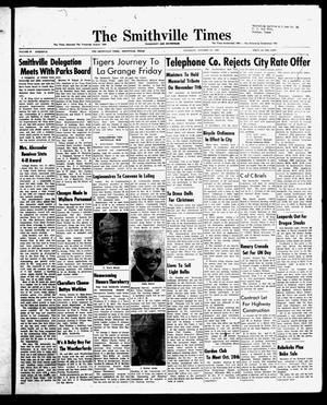 The Smithville Times Transcript and Enterprise (Smithville, Tex.), Vol. 67, No. 43, Ed. 1 Thursday, October 23, 1958