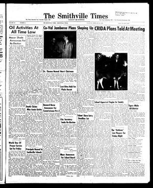 The Smithville Times Transcript and Enterprise (Smithville, Tex.), Vol. 67, No. 8, Ed. 1 Thursday, February 20, 1958