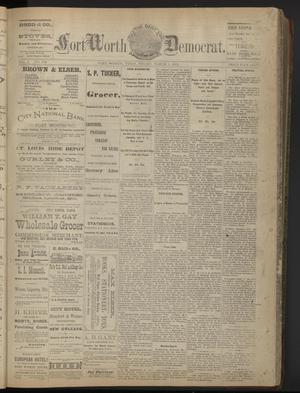 Primary view of The Daily Fort Worth Democrat. (Fort Worth, Tex.), Vol. 2, No. 208, Ed. 1 Friday, March 1, 1878