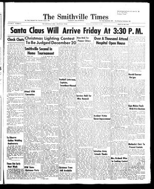 Primary view of object titled 'The Smithville Times Transcript and Enterprise (Smithville, Tex.), Vol. 67, No. 51, Ed. 1 Thursday, December 18, 1958'.