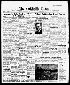 The Smithville Times Transcript and Enterprise (Smithville, Tex.), Vol. 67, No. 27, Ed. 1 Thursday, July 3, 1958