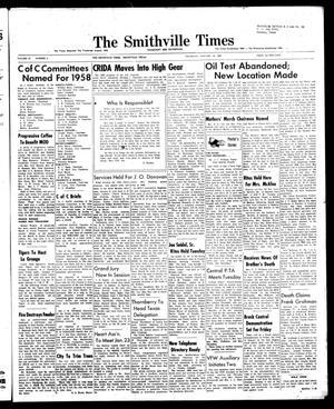 The Smithville Times Transcript and Enterprise (Smithville, Tex.), Vol. 67, No. 3, Ed. 1 Thursday, January 16, 1958
