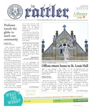 The Rattler (San Antonio, Tex.), Vol. 100, No. 7, Ed. 1 Wednesday, September 12, 2012