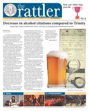 The Rattler (San Antonio, Tex.), Vol. 99, No. 6, Ed. 1 Tuesday, November 22, 2011