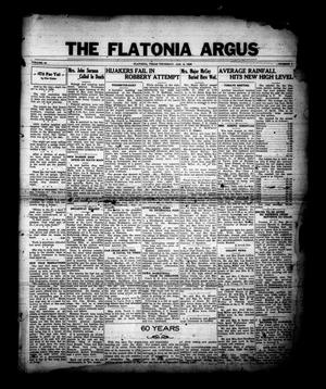 Primary view of object titled 'The Flatonia Argus (Flatonia, Tex.), Vol. 61, No. 1, Ed. 1 Thursday, January 2, 1936'.