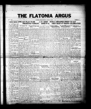 Primary view of The Flatonia Argus (Flatonia, Tex.), Vol. 61, No. 12, Ed. 1 Thursday, March 19, 1936
