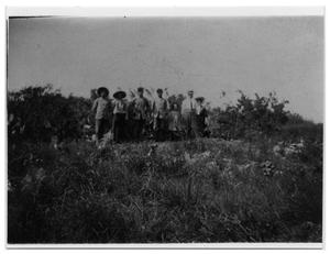 Primary view of object titled 'Workers Clearing the Land for Progress'.