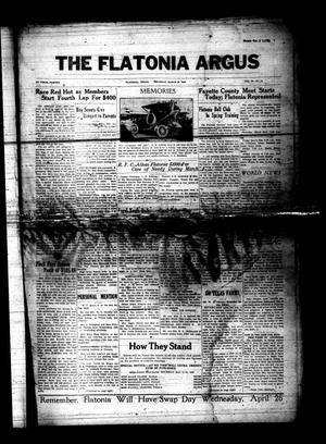 The Flatonia Argus (Flatonia, Tex.), Vol. 58, No. 12, Ed. 1 Thursday, March 23, 1933